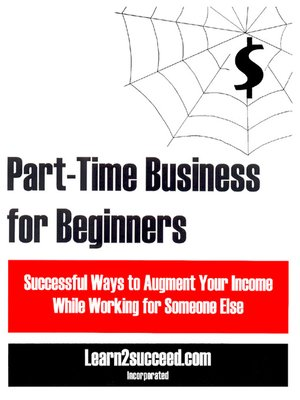 cover image of Part-Time Business for Beginners