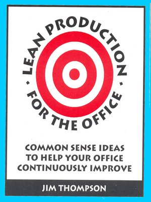 cover image of Lean Production for the Office