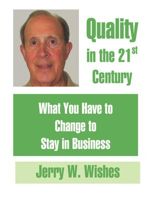 cover image of Quality in the 21st. Century