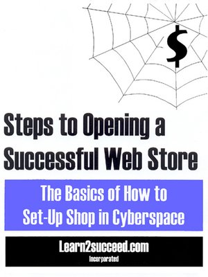 cover image of Steps to Opening a Successful Web Store