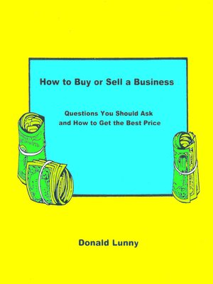 cover image of How to Buy or Sell a Business