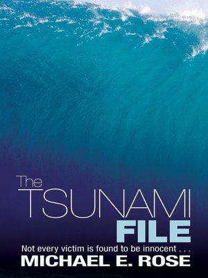 cover image of The Tsunami File