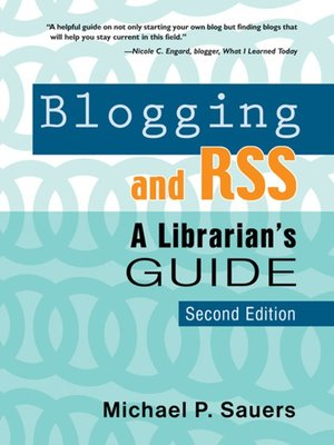 cover image of Blogging and RSS