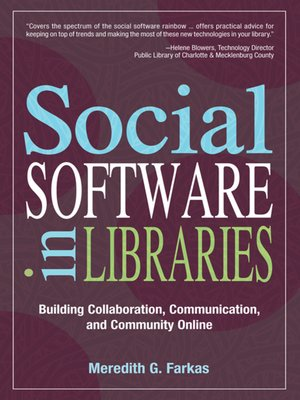 cover image of Social Software in Libraries