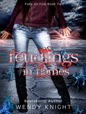 cover image of Feudlings in Flames