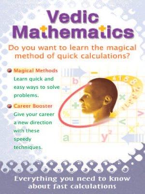 cover image of Vedic Mathematics