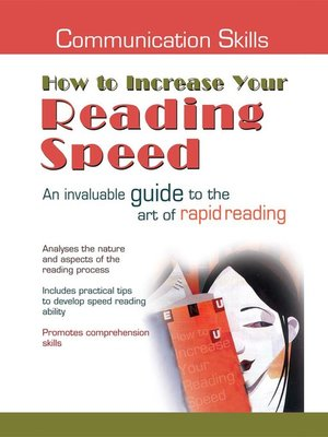 cover image of Communication Skills: How to Increase Your Reading Speed