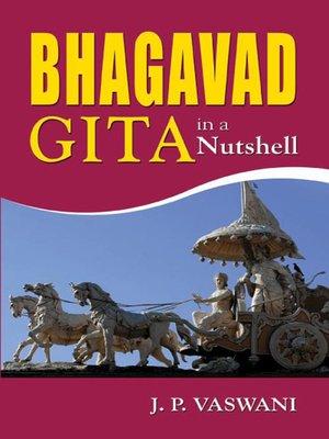 cover image of Bhagavad Gita in a Nutshell