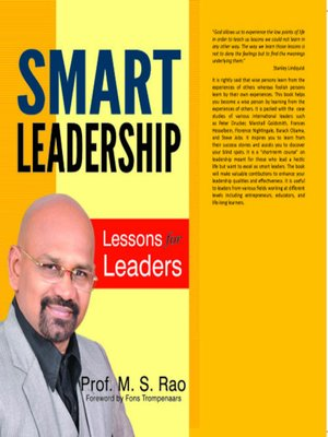cover image of Smart Leadership
