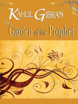 cover image of The Garden of the Prophet