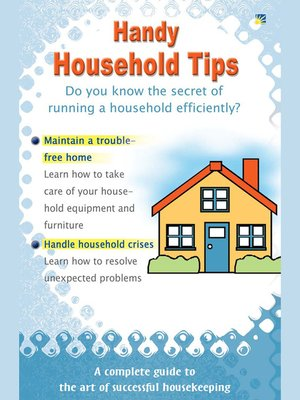 cover image of Handy Household Tips