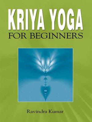 cover image of Kriya Yoga for Beginners