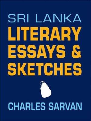 cover image of Sri Lanka Literary Essays & Sketches