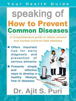 cover image of Speaking of How to Prevent Common Diseases