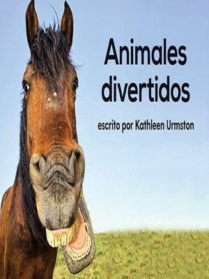 cover image of Animales divertidos