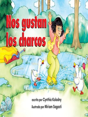 cover image of Nos gustan los charcos