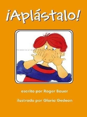 cover image of ¡Aplástalo!