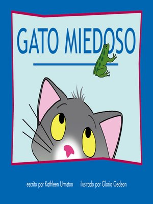 cover image of Gato miedoso