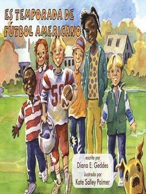 cover image of Es temporada de fútbol americano