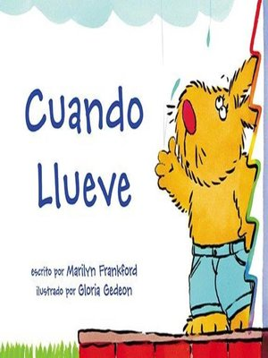 cover image of Cuando llueve