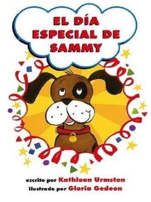 cover image of El día especial de Sammy
