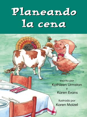 cover image of Planeando la cena