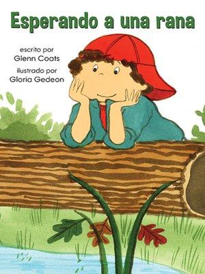 cover image of Esperando a una rana