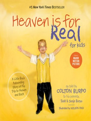 cover image of Heaven is for Real for Kids