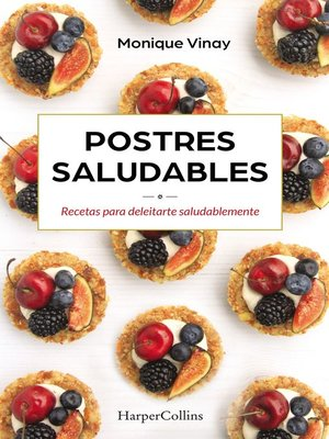 cover image of Postres saludables