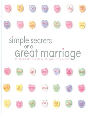cover image of Simple Secrets of a Great Marriage