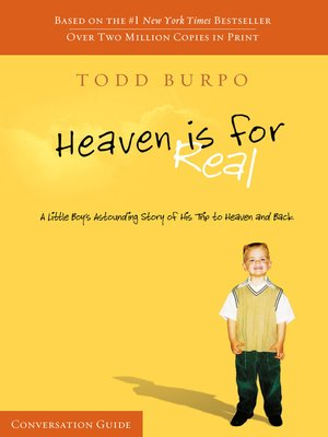 cover image of Heaven Is For Real Conversation Guide
