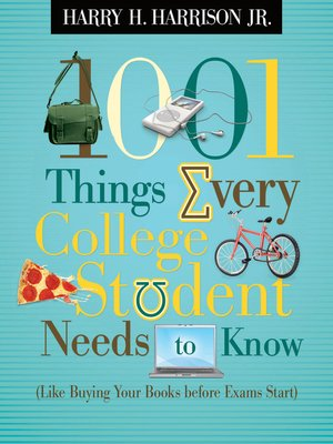 cover image of 1001 Things Every College Student Needs to Know
