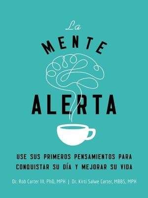 cover image of La mente alerta