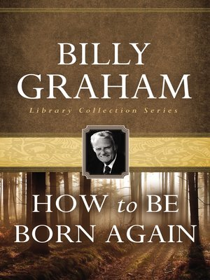 cover image of How To Be Born Again