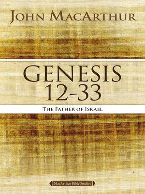 cover image of Genesis 12 to 33