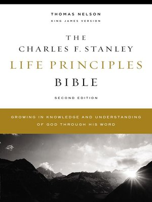 cover image of KJV, Charles F. Stanley Life Principles Bible, eBook