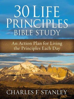 cover image of 30 Life Principles Bible Study