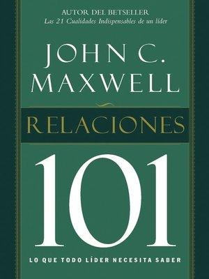 cover image of Relaciones 101