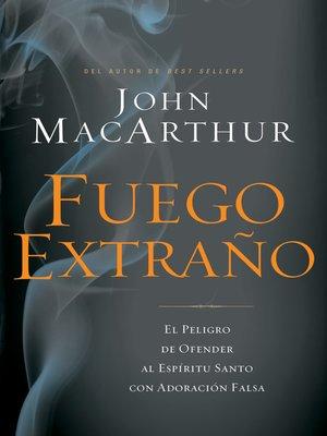 cover image of Fuego extraño