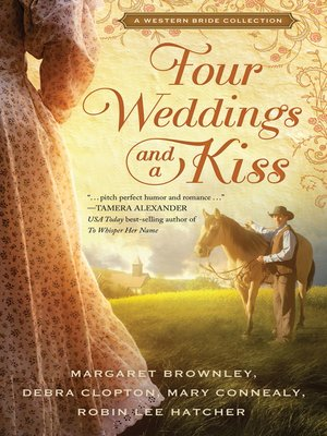 cover image of Four Weddings and a Kiss