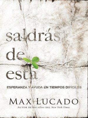 cover image of Saldrás de esta