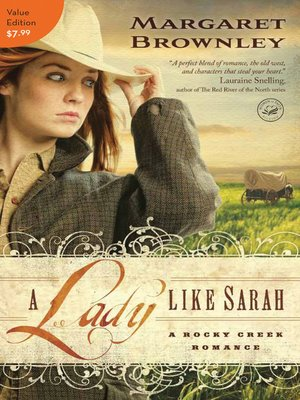 cover image of A Lady Like Sarah