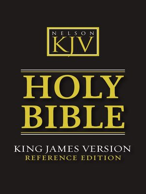 cover image of KJV, Reference Bible, eBook