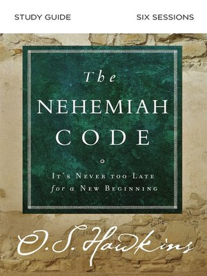 cover image of The Nehemiah Code Study Guide