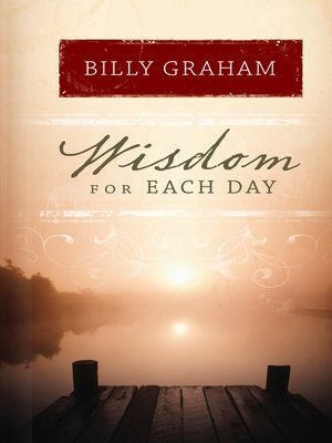 cover image of Wisdom for Each Day
