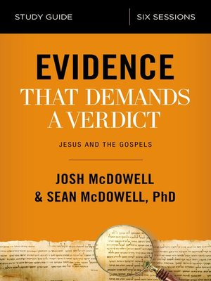 cover image of Evidence That Demands a Verdict Study Guide