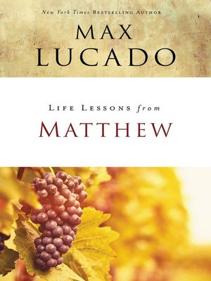 cover image of Life Lessons from Matthew