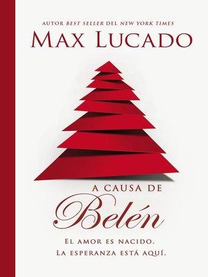 cover image of A causa de Belén