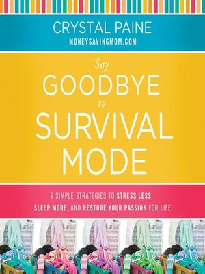 cover image of Say Goodbye to Survival Mode