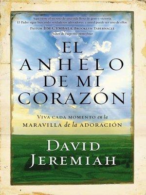 cover image of El anhelo de mi corazón
